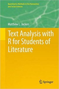Cover image of a book titled Text Analysis with R for Students of Literature